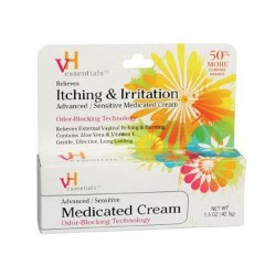 Vh Essentials Advanced Sensitive Medicated Cream - 1.5 Oz