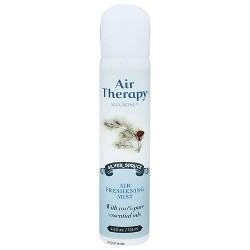 Mia Rose Air Therapy non-aerosol spray mist neutralizes, Silver spruce, 4.6 oz