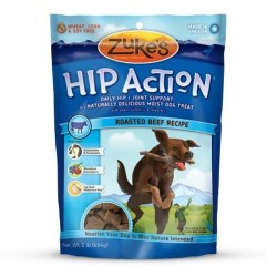Zukes hip action with added glucosamine and chondroitin, roasted beef - 16 oz