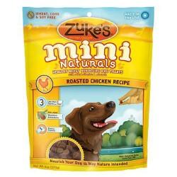 Zukes mini naturals healthy moist miniture roasted chicken dog treats - 6 oz