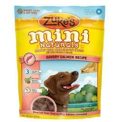 Zukes mini naturals savory salmon, wheat free - 6 oz