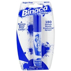 Binaca fast blast breath spray peppermint flavor - 0.2 oz
