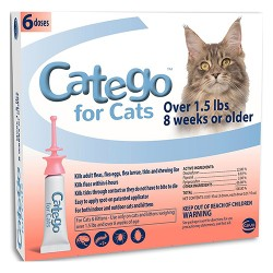 H&C Animal Health catego for cats over 1.5 lbs - over 1.5lb, 6 p, 6 ea