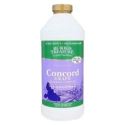 Buried Treasure liquid 70+ plant derived minerals, Concord Grape, 32 oz