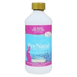 Buried Treasure PreNatal plus DHA complete supplement - 16 oz