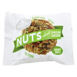 Betty lou's nuts about spirulina ginseng energy balls - 1 oz