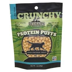 Redbarn Pet Products Inc protein puffs cat treat - 1 oz, 12 ea