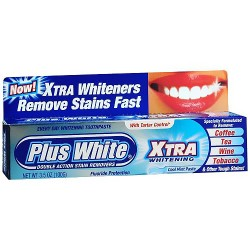 Plus White ToothPaste Cool Mint - 3.5 Oz