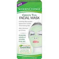 Sudden change green tea facial mask - 3.4 oz