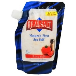 Real Salt Natures First Sea Salt, Fine - 26 oz