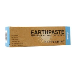 Redmond earthpaste amazingly natural toothpaste peppermint - 4 oz