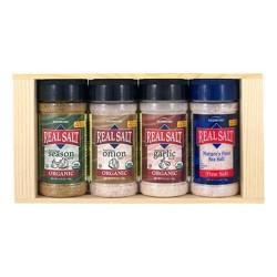 Redmond trading company organic seasoning gift box  -  4 ea