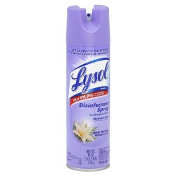 Lysol disinfectant spray for cold and flu viruses, Citrus Meadow - 19 oz