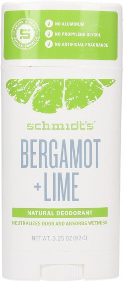 Schmidt's bergamot deodorant roll on deodorant stick - 3.25 oz