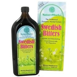 NatureWorks Swedish Bitters dietary supplement liquid - 33.8 oz