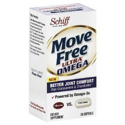 Schiff move free ultra omega softgels - 30 ea