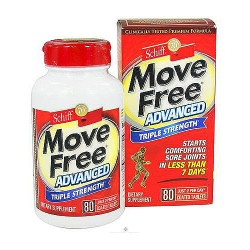 Schiff move free joint, triple strength tablets - 80 ea