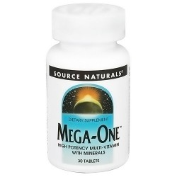 Source Naturals Mega-One High Potency MultivitaminTablets - 30 ea