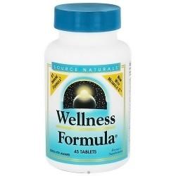 Source Naturals Wellness formula herbal defense complex immune formula tablets - 45 ea