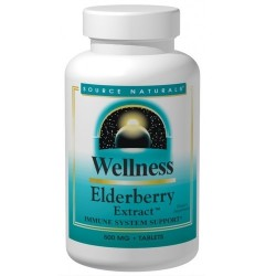 Source Naturals Wellness elderberry extract 500 mg tablets - 30 ea
