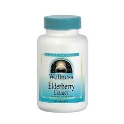 Source Naturals wellness Elderberry extract 500 mg tablets - 60 ea