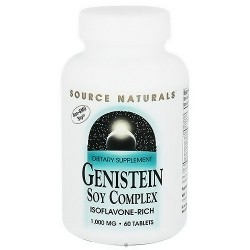 Source Naturals Genistein soy complex 1000 mg tablets - 60 ea