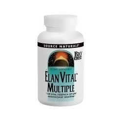 Source Naturals Elan vital multiple tablets - 90 ea