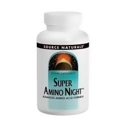 Source Naturals Super amino night advanced amino acid formula tablets - 60 ea