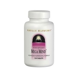 Source Naturals Megamind advanced nutritional formula tablets - 120 ea