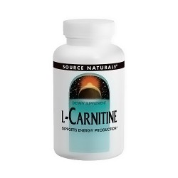Source Naturals L-Carnitine 250 mg capsules supports energy production - 30 ea