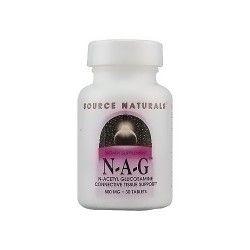 Source Naturals N-A-G 500 mg tablets - 30 ea
