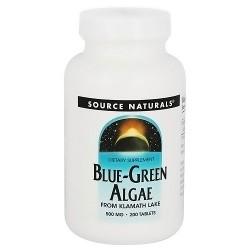 Source Naturals Blue-Green algae 500 mg tablets - 200 ea