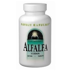 Source Naturals Alfalfa 10 grain 648 mg tablets - 1000 ea