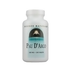 Source Naturals Pau D Arco 500 mg tablets - 250 ea