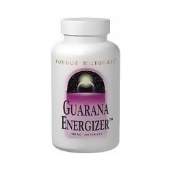 Source Naturals Guarana Energizer 900 mg Tablets - 200 ea