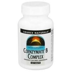Source Naturals Coenzyme B complex, sublingual orange flavoured tablets - 120 ea