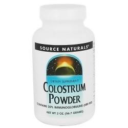 Source Naturals Colostrum Powder, 500 mg Capsules - 2 oz