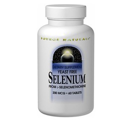 Source Naturals Selenium from L-selenomethionine 100 mcg tablets - 100 ea