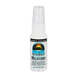 Nutraspray melatonin orange flavored time release sublingual sprays, 2 oz