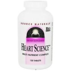 Source Naturals Heart science tablets - 120 ea