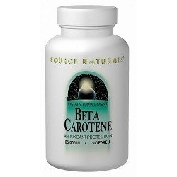 Source Naturals Beta Carotene Antioxidant Softgels - 100 ea