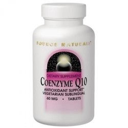 Source Naturals Coenzyme Q10 sublingual 30 mg tablets - 120 ea