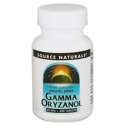 Source Naturals Gamma oryzanol athletic series 60 mg tablets - 200 ea