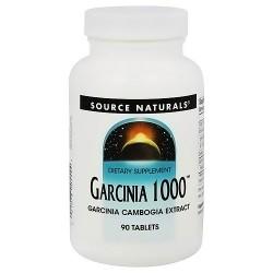 Source Naturals Garcinia 1000 tablets - 90 ea