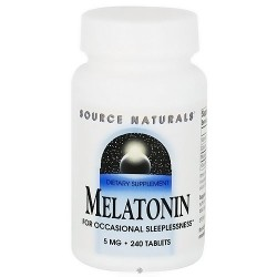 Source Naturals Melatonin 5 mg for occasional sleeplessness tablets - 240 ea