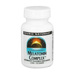 Source Naturals Melatonin complex sublingual 3 mg tablets - 50 ea