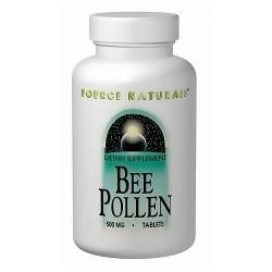 Source Naturals Bee pollen 500 mg tablets - 250 ea
