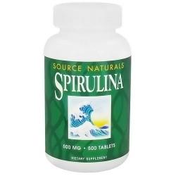Spirulina multiple 500 mg tablets - 500 ea