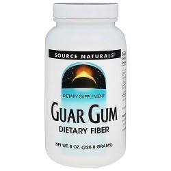 Source Naturals Guar Gum Powder, Dietary Supplement - 8 oz