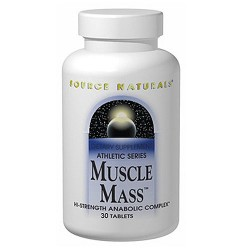 Source Naturals Muscle mass athletic series tablets - 30 ea